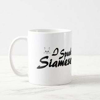 I Speak Siamese Coffee Mug