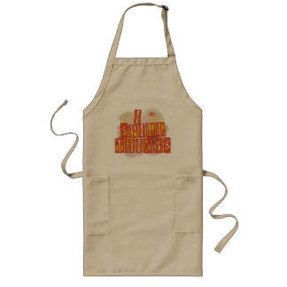 I Spill Things long humor apron
