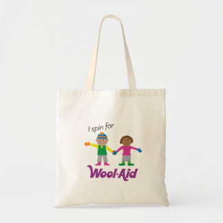 I Spin for Wool-Aid Tote Bag