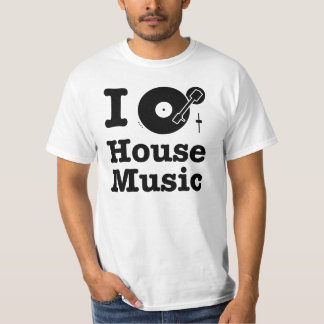 I spin House Music T-Shirt