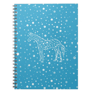 I Spot a Blue Unicorn Notebooks