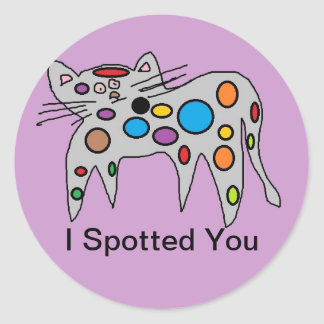 I spotted You Stickers