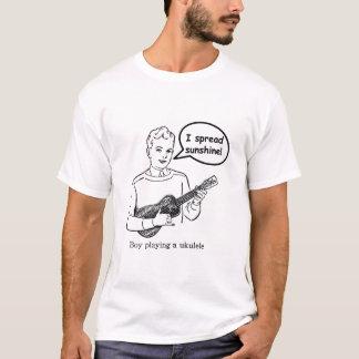 I Spread Sunshine (Ukulele) T-Shirt