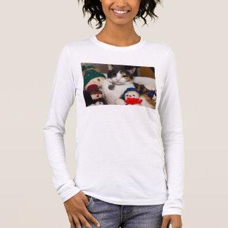 I Spy A Calico Long Sleeve T-Shirt
