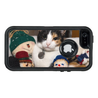 I Spy A Calico OtterBox Defender iPhone Case