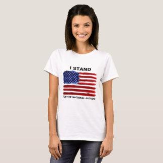 I Stand - American Flag T-Shirt