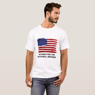 I Stand - American Flag T-Shirt