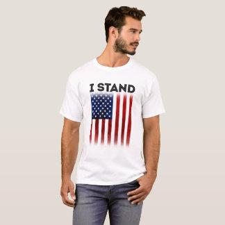I STAND - United States of America Flag T-shirt