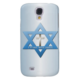 I Stand With Israel Christian Cross Galaxy S4 Case