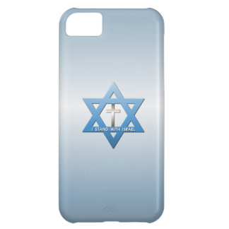 I Stand With Israel Christian Cross Cover For iPhone 5C