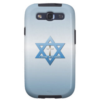 I Stand With Israel Christian Cross Galaxy S3 Case
