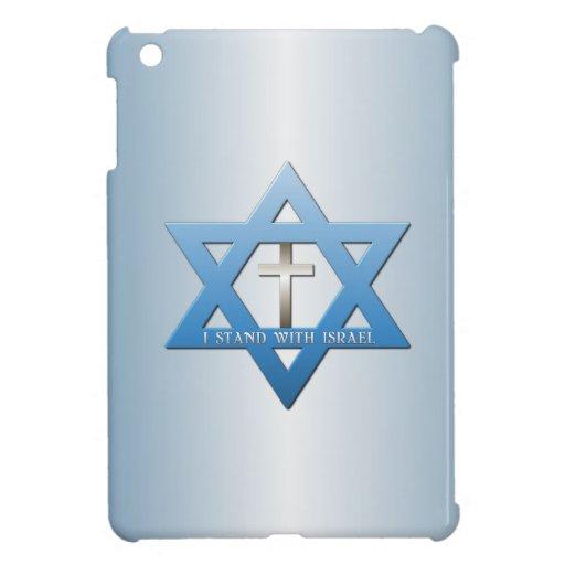 I Stand With Israel Christian Cross iPad Mini Cover