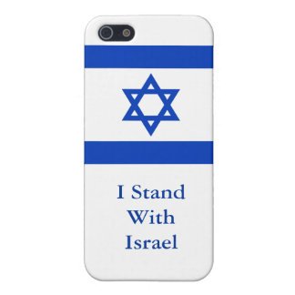I Stand With Israel iPhone 5/5S Case