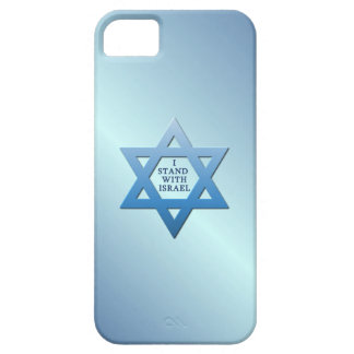I Stand With Israel Jewish Star of David on Blue Case For The iPhone 5