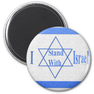 I Stand With Israel Magnet