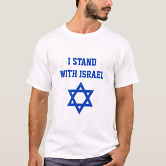 I Stand with Israel Star of David T-Shirt