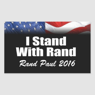 I Stand with Rand Paul Sticker