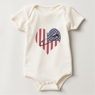 I Stand With You - Safety Pin Baby Bodysuit