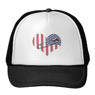 I Stand With You - Safety Pin Trucker Hat
