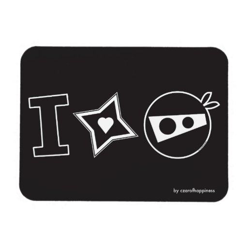 I Star Ninja Magnet