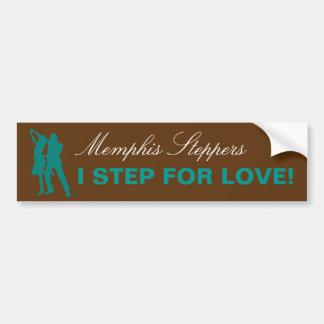 I Step For Love - Memphis Bumper Sticker