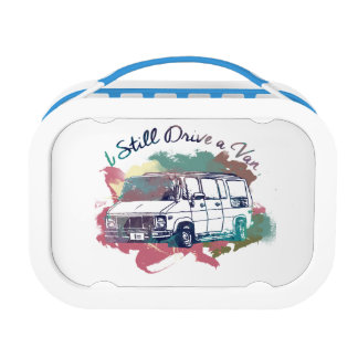 I Still Drive A Van Lunch Boxes
