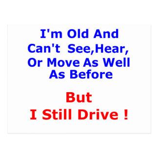 I Still Drive Postcard