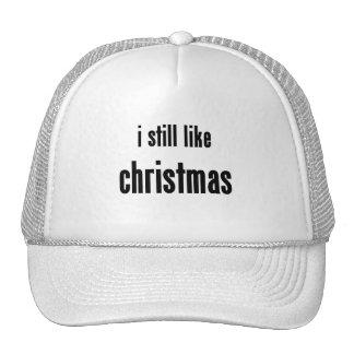 i still like christmas mesh hats