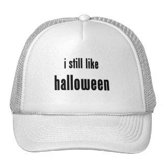 i still like halloween trucker hats