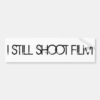 I STILL SHOOT FILM BUMPER STICKER