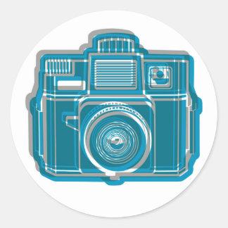 I Still Shoot Film Holga Logo Scarf Round Sticker