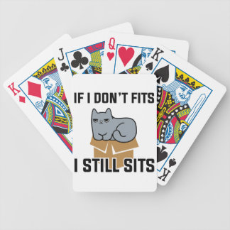 I Still Sits Bicycle Playing Cards