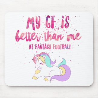 I Suck At Fantasy Football Short-Sleeve Unisex T-S Mouse Pad