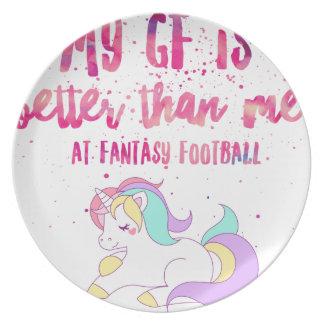 I Suck At Fantasy Football Short-Sleeve Unisex T-S Plate