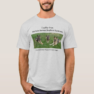 I suffer from Multiple Germa... - ... - Customized T-Shirt