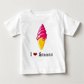I ❤ Summer - Ice Cream Baby T-Shirt