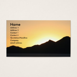 i sunset business card