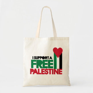 I support a free palestine tote bag