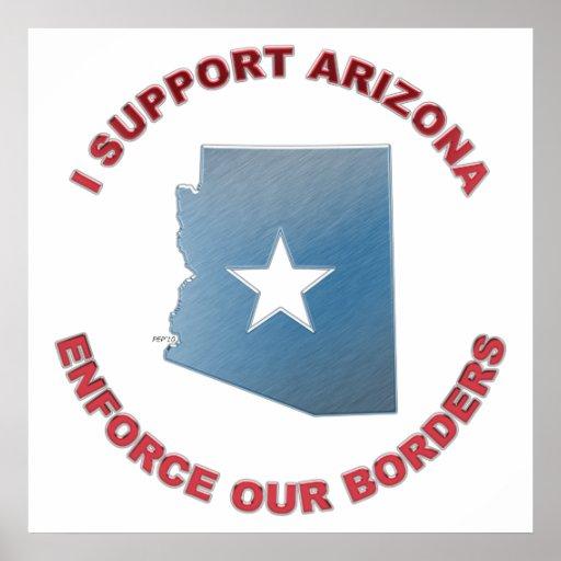 I Support Arizona Print