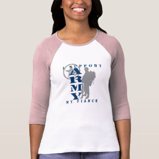 I Support Fiance 2 - ARMY Tee Shirt