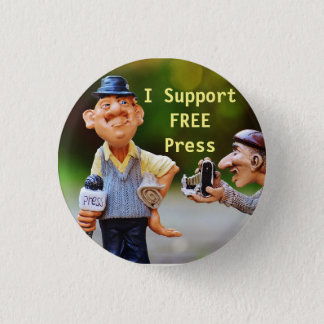 I Support Free Press Button