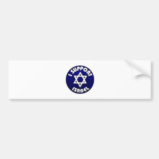 I Support Israel - Star of David מגן דוד Bumper Sticker