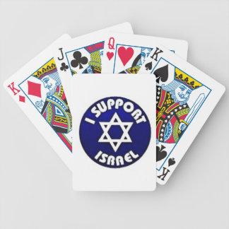 I Support Israel - Star of David מגן דוד Poker Deck