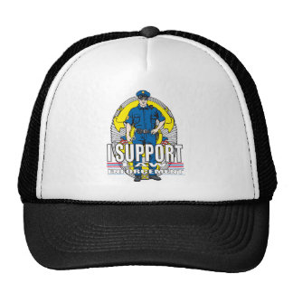 I Support Law Enforcement Trucker Hat