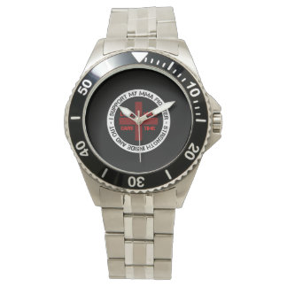 I Support My MMA Fighter Wristwatch