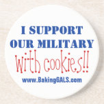 I support our military Coasters
