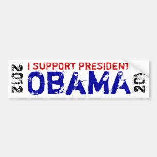 I Support President Obama 2012 Bumper Sticker
