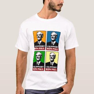 I Support Ron Paul Quad Shirt