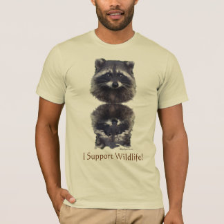 """I SUPPORT WILDLIFE!"" Tees & Hoodies"