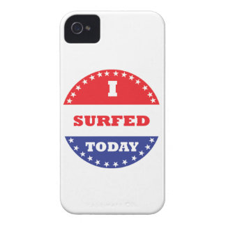I Surfed Today Case-Mate iPhone 4 Cases